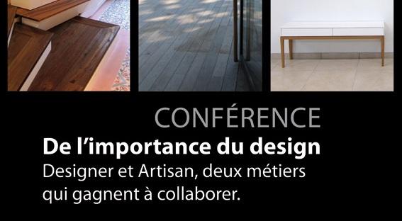 Conférence Fondation Vasarely, desigenrs et artisans