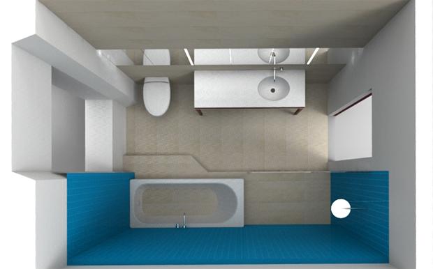 Modélisation de la salle de bains