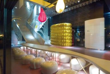 Lounge de l'hôtel Barcelo Malaga © JORDI TORRES