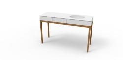 Meuble vasque salle de bains sur mesure - Design architecture intérieure Aix Marseille - Hegenbart Raynaud (1)