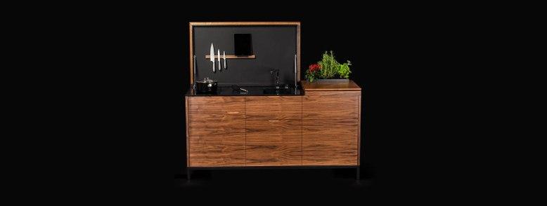 mini cuisine optimisée pour studio et entreprises