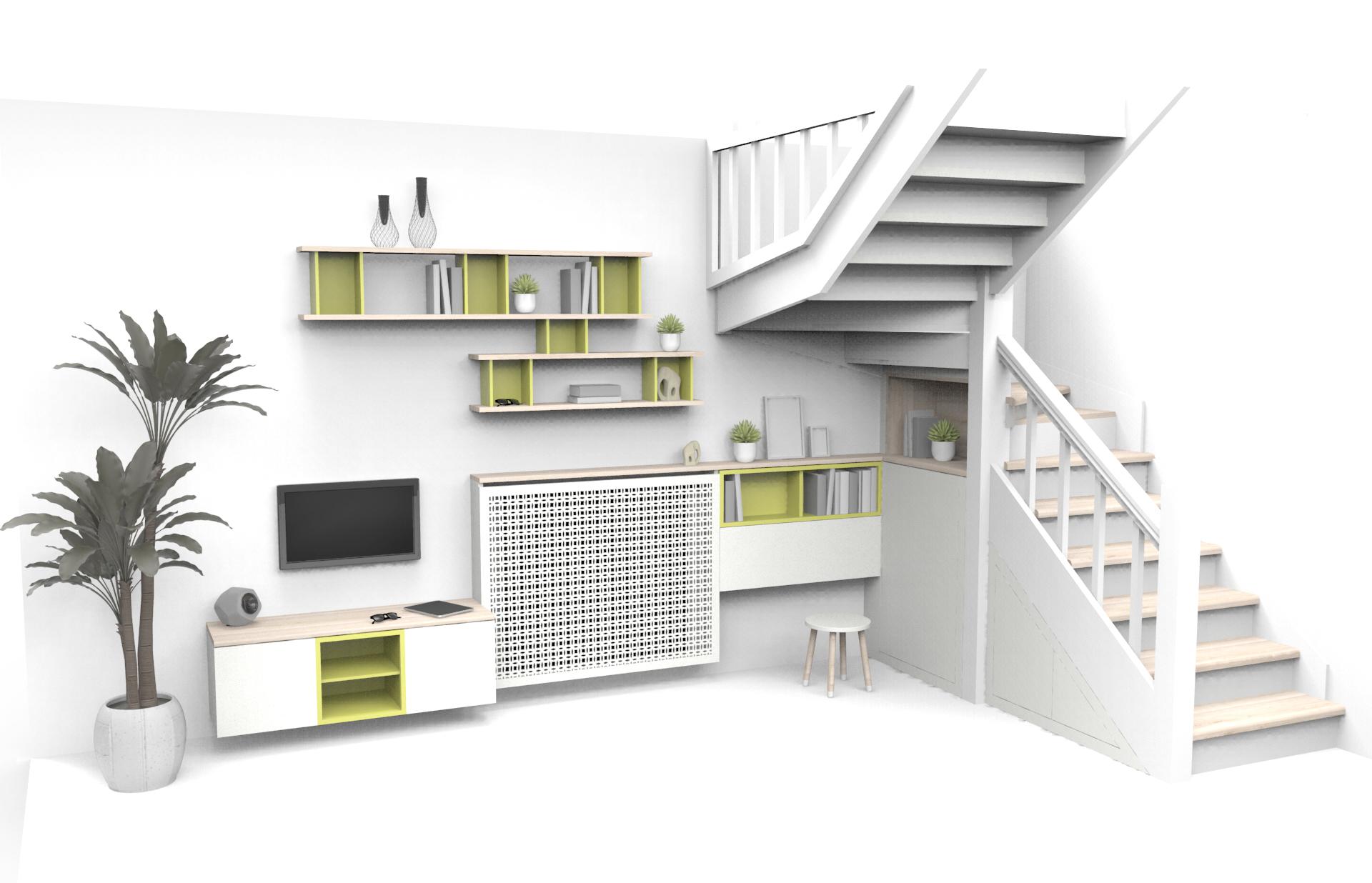 niche sous escalier best des petits wc prennent place sous l escalier with niche sous escalier. Black Bedroom Furniture Sets. Home Design Ideas