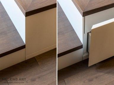 Détail tiroir sous lit by Hegenbart Aix-en-provence